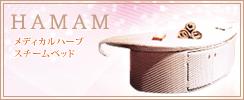【HAMAM】メディカルハーブスチームベッド