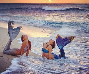Beautiful Moment as a Mermaid