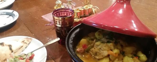 タジンの美味しいモロッコ料理と共に~