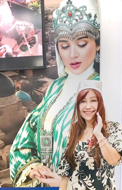 ウズベク共和国💖お衣装も素敵でした